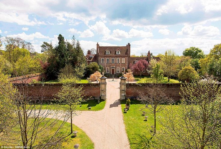 For five years, Dame Maggie and the cast of Downton Abbey have been filmed at the stunning 17th century mansion near Byfleet Surrey
