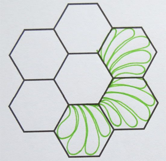 Octagon Quilting Templates : Geta s Quilting Studio: How to Quilt Hexagons EPP HEXAGON 1 Pinterest Studios, How to ...