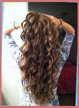 Image Result For Loose Spiral Perm Long Thin Hair