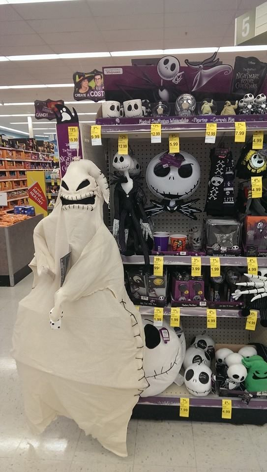 Nightmare Before Christmas items at Walgreens