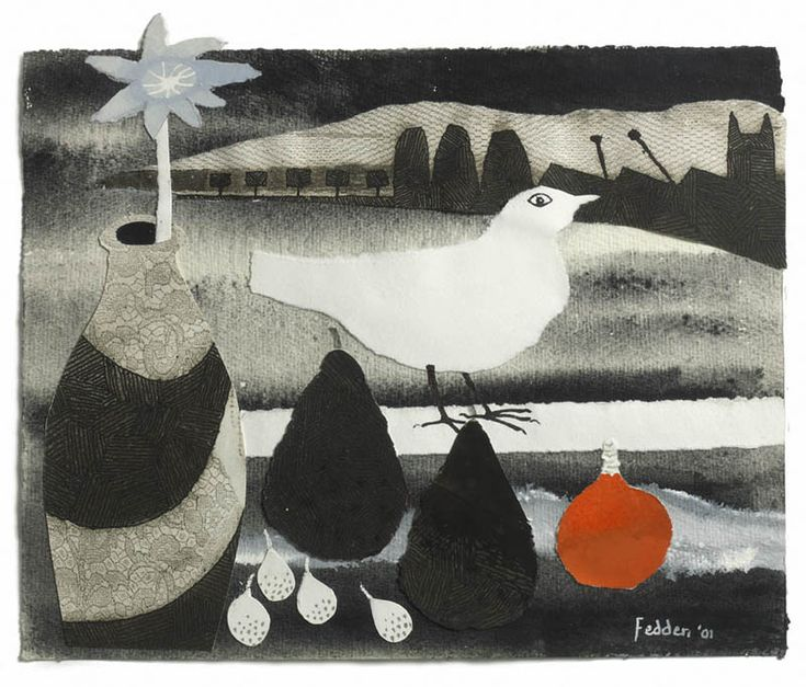 Mary Fedden White Bird
