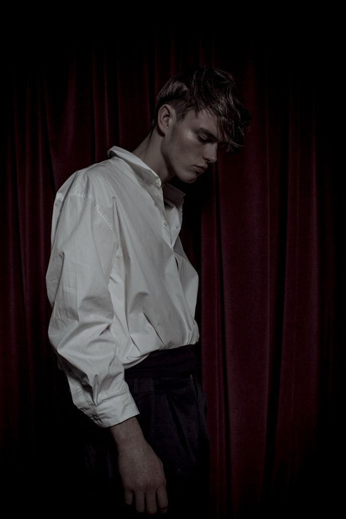 'Innocents'. Carl photographed by Turkina Faso for Kaltblut.