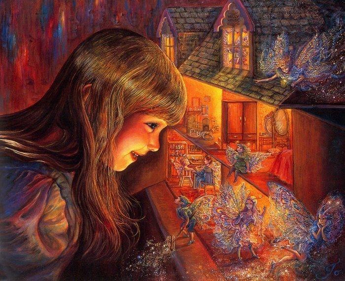 Волшебные фантазии художницы Жозефина Уолл часть 2. Обсуждение на LiveInternet - Российский Сервис Онлайн-Дневников