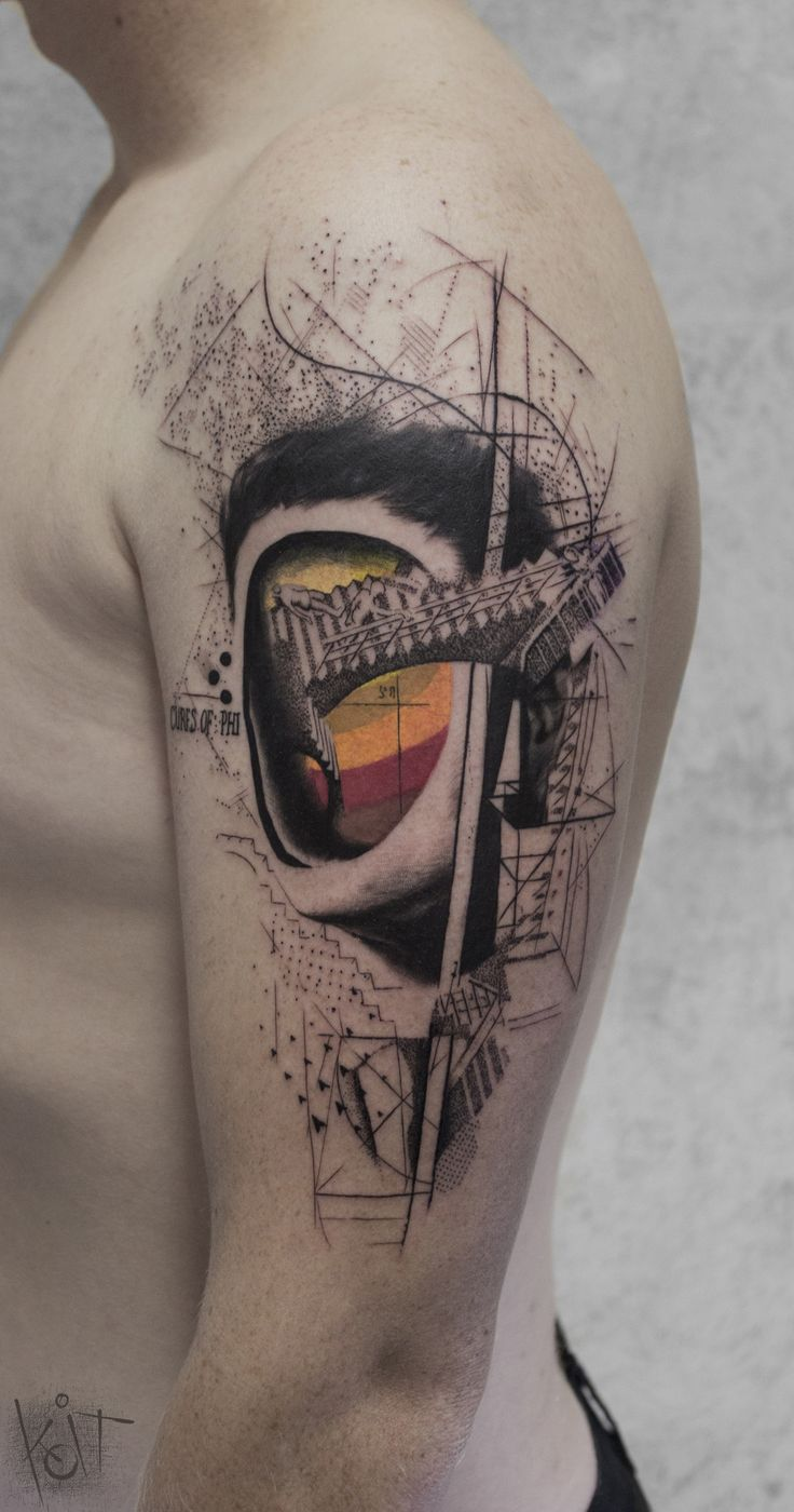 Portrait by KOit Tattoo (Berlin). koittattoo@gmail.com | Inked | Tattoo ideas | Tattoo artist | face tattoos | Arm tattoo | Graphic tattoo | Photoshop tattoo | Berlin | tattoos for guys | Best tattoos | Abstract tattoo | Body art | Geometric tattoo | Inspiration | Tattoo ideas | Cool tattoo design | Rib tattoo | Arm tattoo | Tats | inked | Trash tattoo | Tattoo design | Beautiful Tattoos | Illustration | Art  | Upper arm | Tatouage | Tätowierung Tatuaggio Tatuaż
