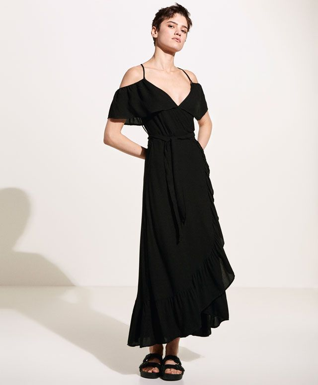 Frilled dress - New this week - NEW IN | Oysho