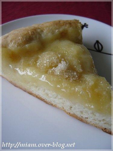 La Salée au sucre ou Gâteau du Vully - Dans la cuisine des frangines !