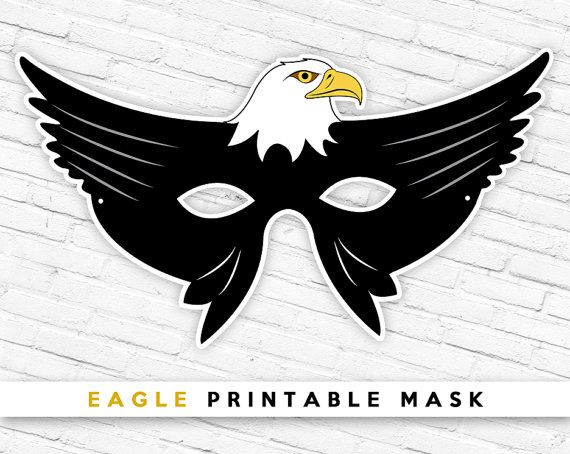Eagle Mask Bird Patriotic 4th Of July By TheRasilisk MaskPrintable