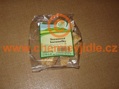 potravina Sezamové karamelky