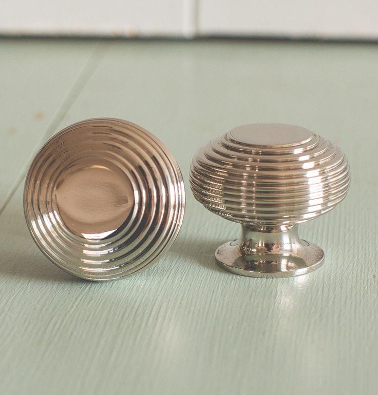 Beehive Large Cabinet Knob - Nickel