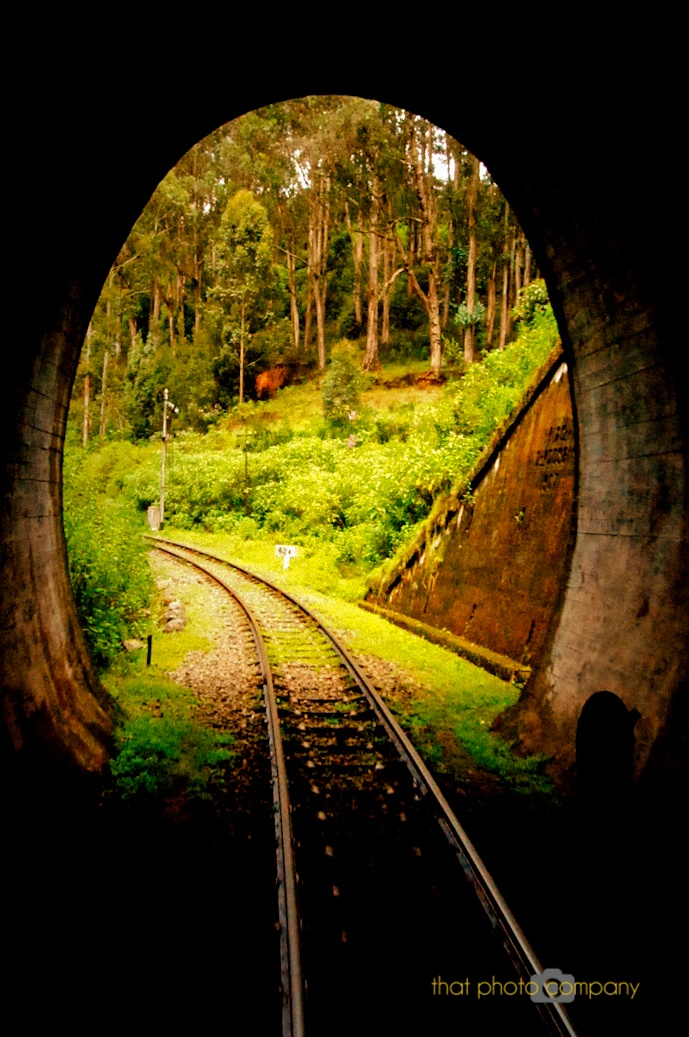 Railway tunnel on the way to Ooty http://www.greatrail.com/train-journeys-of-the-world/bluemountainrailway.aspx