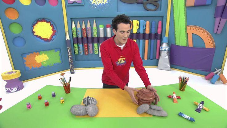 Art Attack - Pierre à secrets - Sur Disney Junior - VF