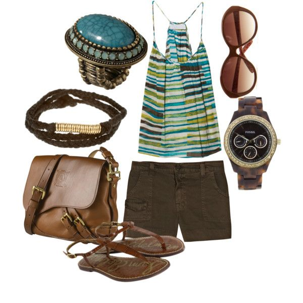 .Summer Fashion, Clothing Ideas, Style Inspiration, Brown Sets, Pinterest Closets, Closets Inspiration, Summer Clothing, Dreams Wardrobee 3, Dreams Closets