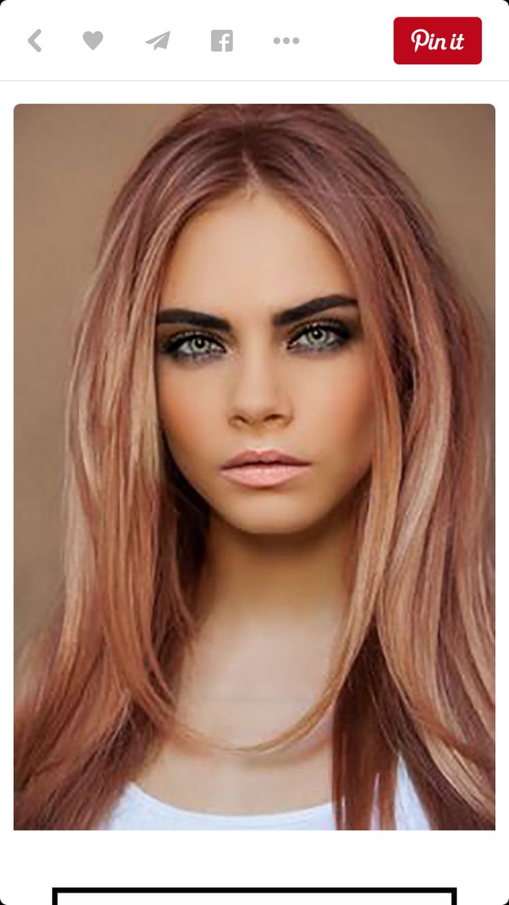 Hair Color Trends 2018 Highlights Pale Violet Auburn With Champagne Blonde I Wish Could Have This
