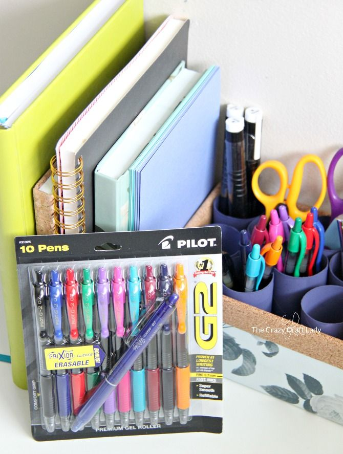 Making An Upcycled Diy Pen Organizer For Your Work Space Pen