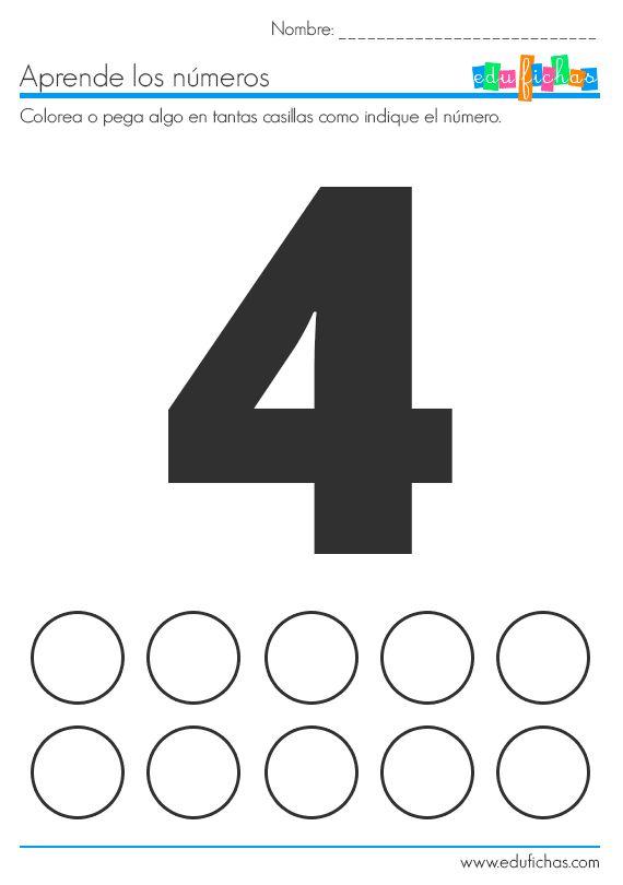 Ficha del número 1 para pegatinas.   Descarga las fichas del 1 al 10 aquí:  http://www.edufichas.com/actividades/matematicas/numeros/fichas-numeros-pegatinas/  #stickers #actividades #pegatinas #infantil #numeros