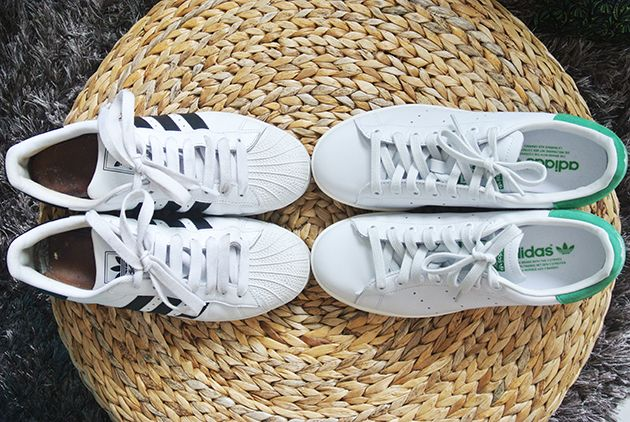 adidas stan smith and superstar