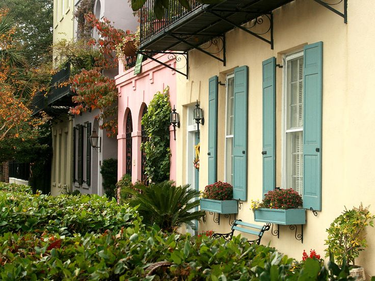 "Established in the 1700s, the area now known as ""Rainbow Row"" was the center of Charleston's commerce district. Today, it's all residential, but it's a beautiful place to see before you leave the city."