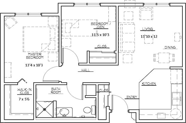 10 Best 750 Sq Ft Two Bedroom Images On Pinterest 2