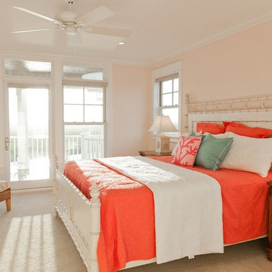 1000 images about colors blush shell pink on pinterest for Peach bedroom decor