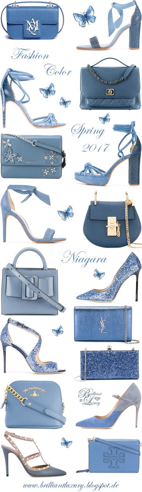 Brilliant Luxury by Emmy DE ♦ Fashion Color Spring 2017 ~ niagara
