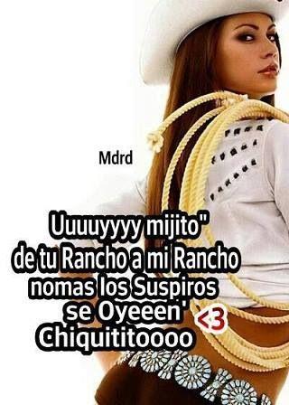 De tu rancho a mi rancho #anglezj