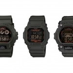 G-Shock Military Green Capsule Collection