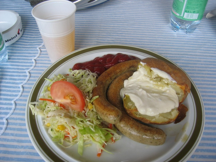 This plate proved to me that I love Austrian food!