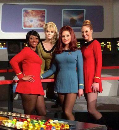 The Ladies of Star Trek Continues.