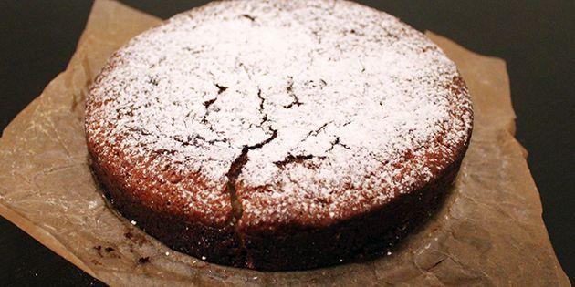 Hvid chokoladekage