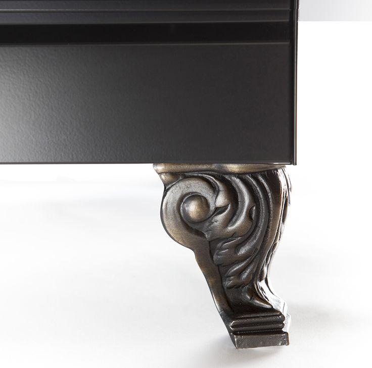 Lejontass i brons som passar till Professional Plus Nostalgie, Majestic och Quadra spisar.
