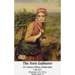The Fern Gatherer de Charles Sillem Didderdale - Set goblen