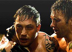 Tom Hardy Warrior Tommy Riordan Conlon (gif) Aw, my poor baby should've won.