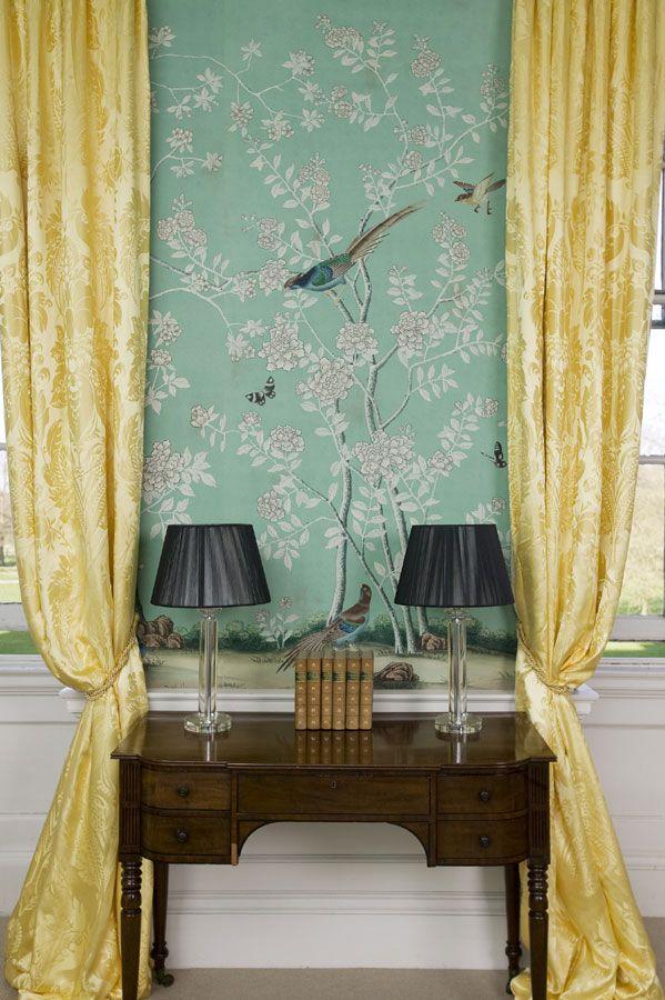 de Gournay: コレクション - 壁紙と織物 コレクション - 無地の彩色 コレクション  