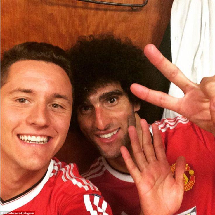 Ander Herrera & Marouane Fellaini, Manchester United