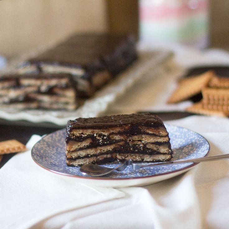Keller kuchen. Tarta de chocolate y galletas. Receta alemana con Thermomix | Thermomix en el mundo | Bloglovin'