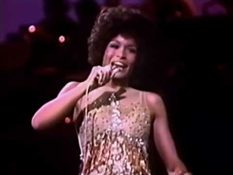 "Freda Payne - ""Band of Gold"" ... I love this song but golly, this live version has Freda looking so happy to be singing such a sad song.  Bonus for the person in the audience with those plaid pants on - maybe she saw those and couldn't stop laughing - I know I couldn't when I saw them!"