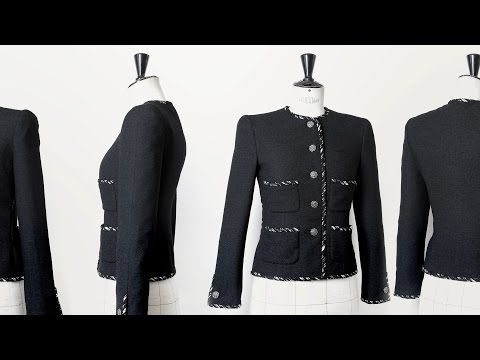 CHANEL Little Black Jacket Making-of Part 2 - YouTube