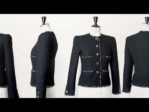 CHANEL Little Black Jacket Making-of Part 2 - YouTube