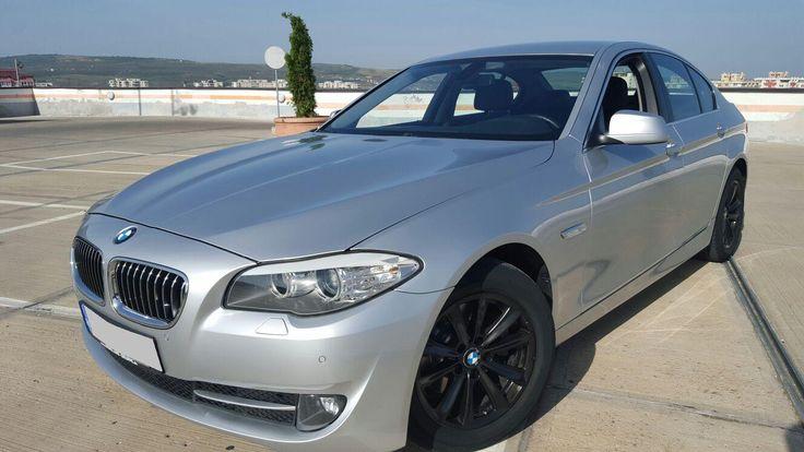 BMW 520 Diesel,  an 2012, 184 CP, argintiu, 4 usi