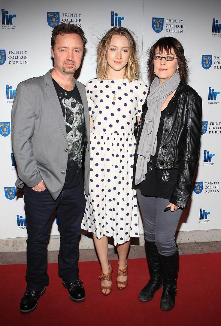Monica and Paul Ronan Saoirse Ronan's Parents