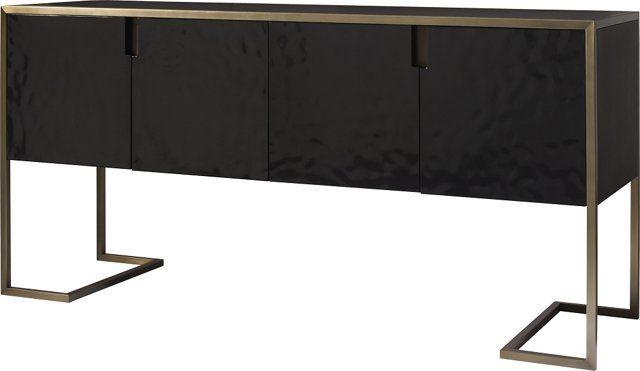 Straight-Up Sideboard, Blackened Walnut