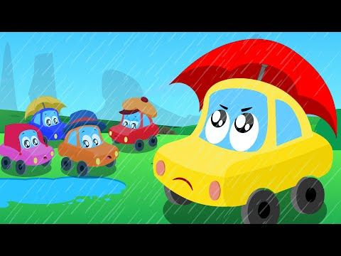 our little friend Johnny wants to play but the rain just won't go away. Watch the fun on #kidschannel  #nurseryrhyme #kidsong #children #carrhymes #toy