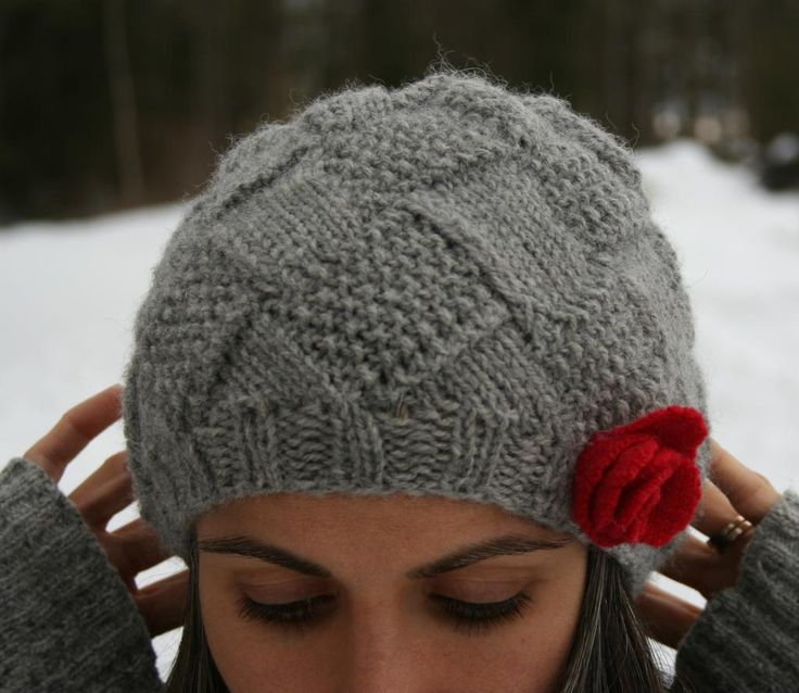 Knitting Ideas   Project on Craftsy: Entrelac winter hat
