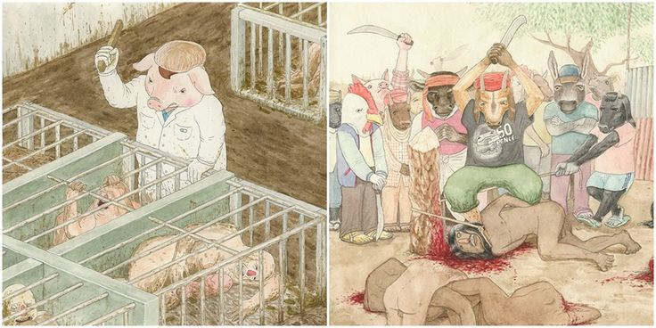 Hayvan istismarına vurgu yapan 15 çizim-  #HayvanHakları