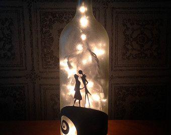 wine bottle light on Etsy, a global handmade and vintage marketplace.