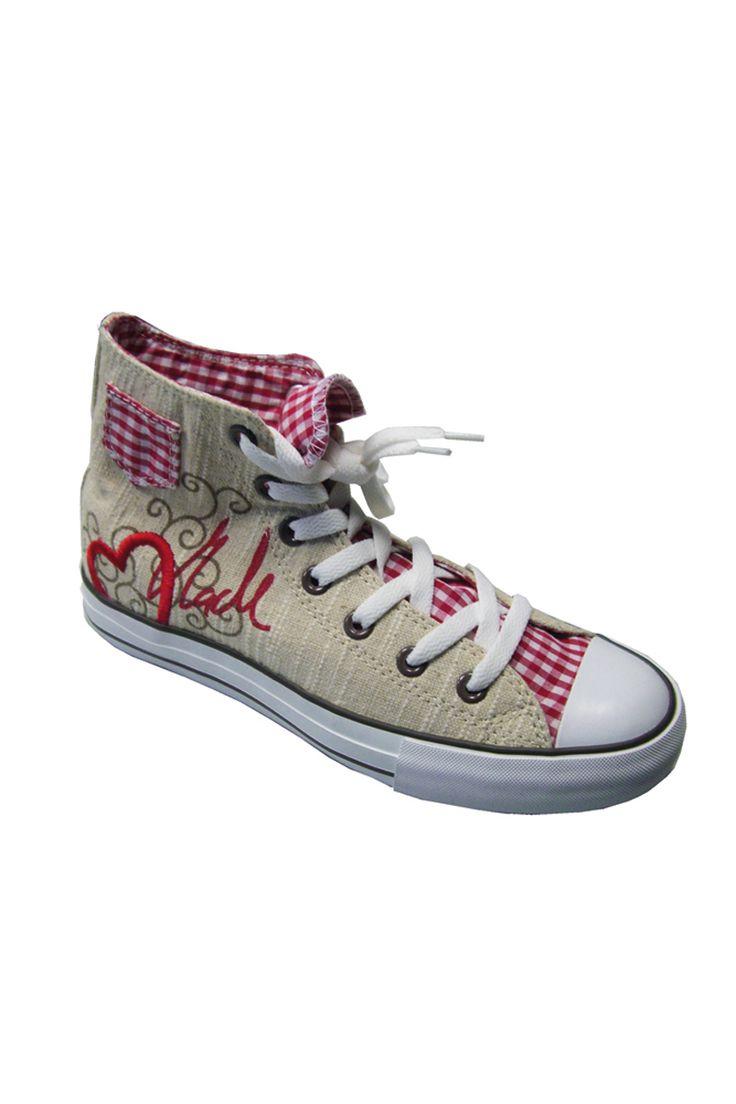 """trachten sneaker damen   Trachten-Pumps """"Jette"""" blau Trachten-Ballerina """"Diamond"""" schwarz »"""