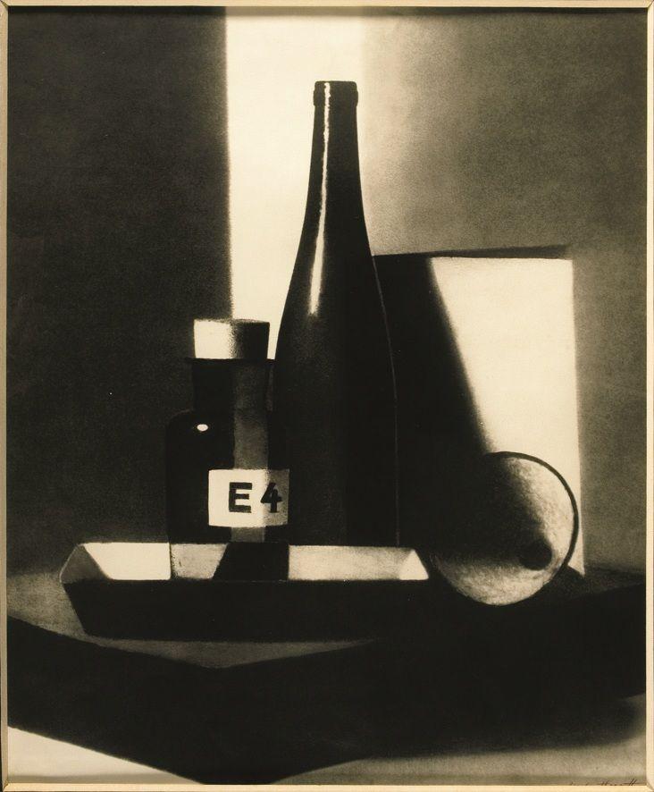 Marta Hoepffner, Komposition mit Flaschen (1945)