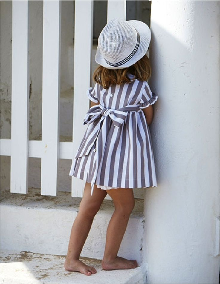 Sweet striped dress