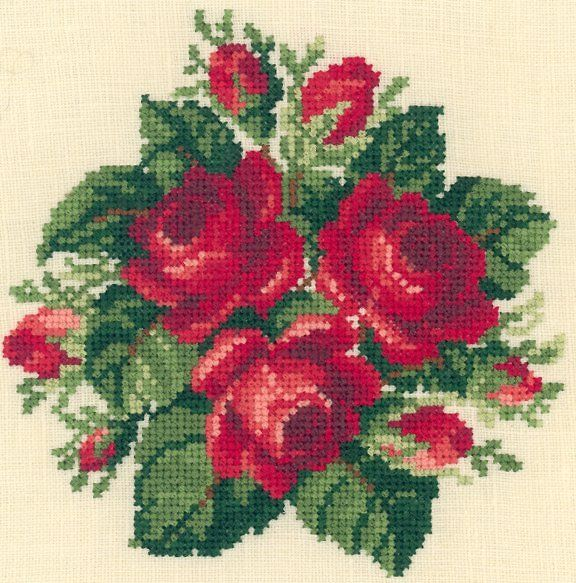 Sudberry House - Machine Cross Stitch Embroidery