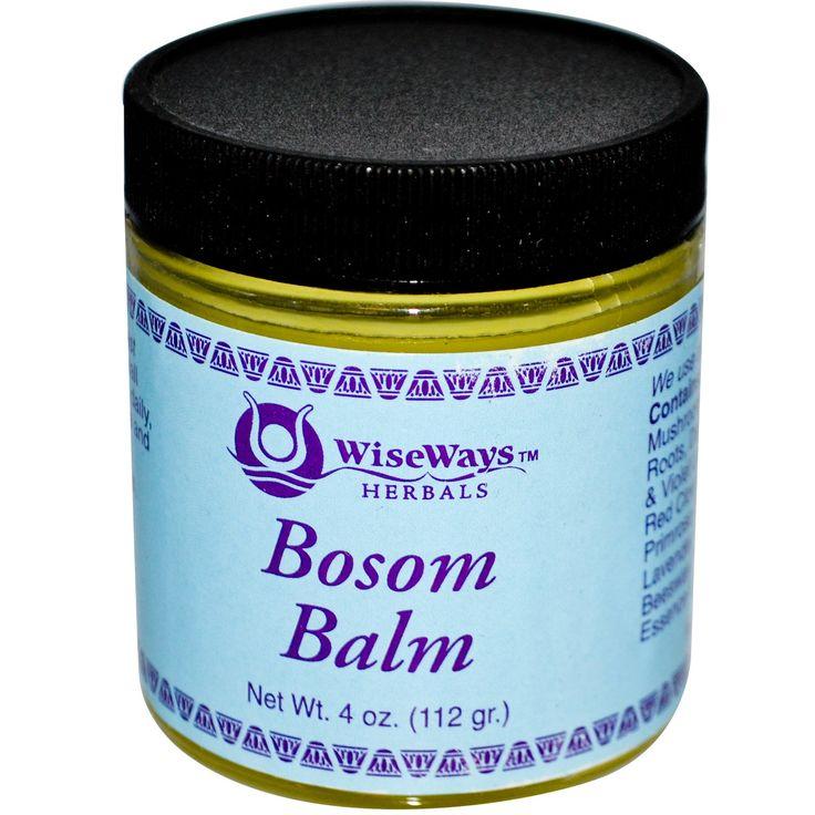 WiseWays Herbals, LLC, Бальзам для груди, 4 унции (112 г)
